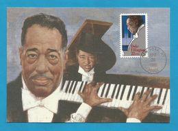 USA 1986 , Duke Ellington - Maximum Card - First Day New York APR 29 1986 - Maximumkarten (MC)