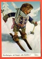 GBB-02 Mecki Fait Du Ski. Borgeugen Ist Besser Als Heilen !  Hérisson. Von Diehl-Film  365 - Mecki