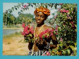 CPSM Moutarde Amora -  V - Sierra Leone - Floral Maiden - Advertising
