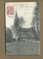 CPA - Environs De Crèvecoeur -  Rotangy  - L'église - Other Municipalities