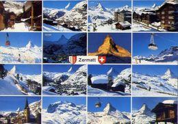 Zermatt - Wallis - Schweiz - Formato Grande Viaggiata – E 4 - VS Valais