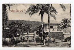 GHANA - GOLD COAST - European Factory On The Gold Coast W. A. - Ghana - Gold Coast
