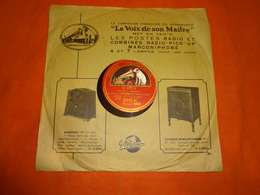 78 T - Disque Gramophone K.7028 - Chant Hawaïen - Ka Halia Ohaoha - Manono - M. Kalola - 78 T - Disques Pour Gramophone