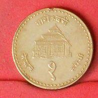 NEPAL 1 RUPIA  1986 -    KM# 1073a - (Nº20294) - Nepal