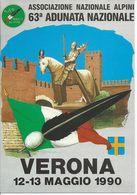 Verona - 63° Adunata Nazionale Alpini - 1990 -  H3883 - Verona