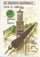 Verona - 63° Adunata Nazionale Alpini - 1990 -  H3884 - Verona