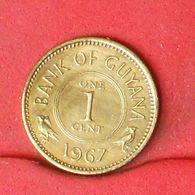 GUYANA 1 CENTIMOS 1967 -    KM# 31 - (Nº20296) - Guyana