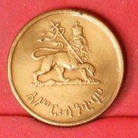 ETHIOPIA 10 CENTIMOS 1943 -    KM# 34 - (Nº20298) - Ethiopia