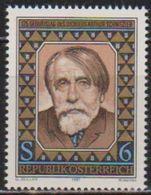 Österreich 1987 MiNr.1883 ** Postfr. 125.Geb. Arthur Schnitzler ( 5642 )günstige Versandkosten - 1945-.... 2ème République