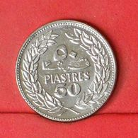LEBANON 50 PIASTRES 1975 -    KM# 28,1 - (Nº20305) - Liban