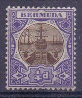 BERMUDA :1906: Y.29 Dentelled/avec Trace De Charnière/hinged : SLUIS,ÉCLUSE,SLUICE,CANAL-LOCK, - Bermudes
