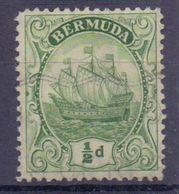 BERMUDA :1910: Y.39 Dentelled/avec Trace De Charnière/hinged : SAILING-BOAT, - Bermudes