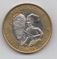 Turquie : Médaille Bimétal 3 Europe 2004 : Yasasin Döner (Père De Kebab ?) - Other