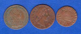 France  Louis  14+15+16 - 987-1789 Monnaies Royales