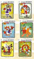 WALT DISNEY CARTOON Stamps Francobolli-STAMPS MHN-GRENADA GRENADINES 1983- - Grenada (...-1974)