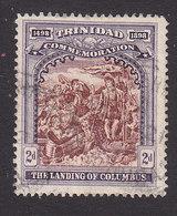 Trinidad, Scott #91, Used, Landing Of Columbus, Issued 1898 - Trinidad & Tobago (...-1961)