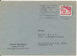 Germany Berlin Cover 7-10-1957 Single Franked - Briefe U. Dokumente