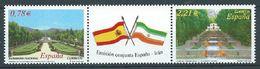 ESPAGNE SPANIEN SPAIN ESPAÑA 2005 WITH IRAN CONJUNTA SET 2V. ED 4186-87 YV 3778-79 MI 4073-74 SG 4132A SC 3374A-B - 2001-10 Nuovi