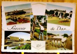 SOUVENIR DE DAX MULTIVUES  RESINIER AU TRAVAIL SPLENDID HOTEL SCAN R/V - Dax