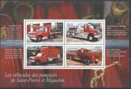 SAINT PIERRE ET MIQUELON - Camions De Pompiers - St.Pedro Y Miquelon