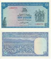 Rhodesia - 1 Dollar 1978 UNC Lemberg-Zp - Rhodesië