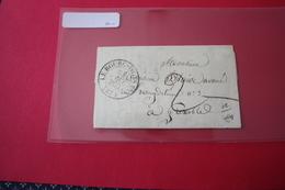 Lettre 1832 Le Bourg D'Oysans Pour Grenoble Taxée 2 - 1801-1848: Precursors XIX