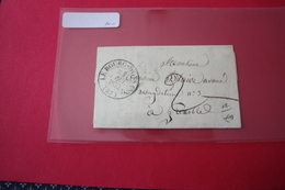 Lettre 1832 Le Bourg D'Oysans Pour Grenoble Taxée 2 - Postmark Collection (Covers)