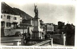 GIBRALTAR MEMORIAL OF THE GRAND WAR ED ARRIBAS - Gibraltar