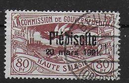 Lot Haute Silesie Oberschelesien Plébisite Overprint Mi. 39 - Germany