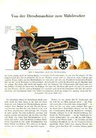 Von Der Dreschmaschine Zum Mähdrescher / Artikel,entnommen Aus Zeitschrift /1950 - Bücher, Zeitschriften, Comics