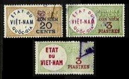 VIETNAM, Revenues, Used, F/VF - Indochina (1889-1945)