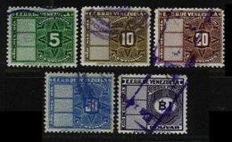 VENEZUELA, Revenues, Used, F/VF - Venezuela
