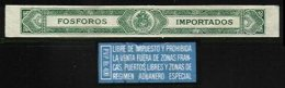 VENEZUELA, Tobacco Tax, (*) MNG, F/VF - Venezuela