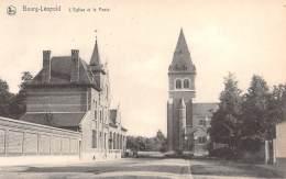 BOURG-LEOPOLD - L'Eglise Et La Poste - Leopoldsburg
