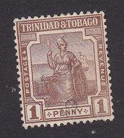 Trinidad And Tobago, Scott #14, Used, Britannia, Issued 1921 - Trinidad & Tobago (...-1961)