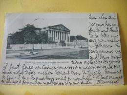 B16 7544 CPA 1901 - 75. FACADE DU PALAIS DE LA CHAMBRE DES DEPUTES. (VUE PRISE DU COTE DE LA SEINE) EDIT. ? - France