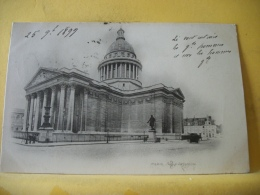 B16 7548 CPA 1899 - 75 PARIS. PANTHEON. EDIT. ? (+ DE 20000 CARTES A MOINS DE 1 EURO) - Pantheon