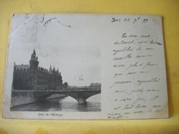 B16 7566 CPA 1899 - 75 PARIS. QUAI DE L'HORLOGE. EDIT. ?  (+ DE 20000 CARTES A MOINS DE 1 EURO) - The River Seine And Its Banks