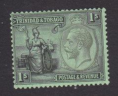 Trinidad And Tobago, Scott #29, Mint Hinged, Britannia, Issued 1922 - Trinidad & Tobago (...-1961)