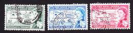 Trinidad And Tobago, Scott #86-88, Used, West Indies Federation, Issued 1958 - Trinidad & Tobago (...-1961)