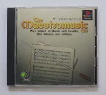 PS1 Japanese : The Maestromusic SLPM-86586 - Sony PlayStation