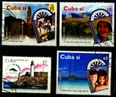 Cuba Scott N° 4166.4167.4168.4136..oblitérés - Cuba