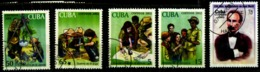 Cuba Scott N° 4292.4203.4204.4205.4206...oblitérés - Cuba
