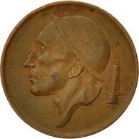 Belgique, 20 Centimes, 1954, TB+, Bronze, KM:147.1 - 01. 20 Centimes