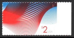 UNITED STATES 2015 Definitive/Patriotic Waves $2 S/ADH: Single Stamp UM/MNH - United States