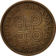 Finlande, 5 Pennia, 1973, TTB, Cuivre, KM:45 - Finlande