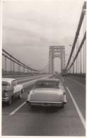 WASHINGTON Bridge - Alte Autos, Fotokarte 1950? - Non Classés