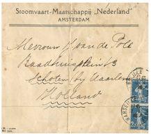 (100) (France Stamps) To Netherlands Travelled Letter (old) - 1920 / 1930 ? - Other