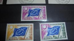 FRANCE 1963 MNH Conseil De Europe - Frankreich