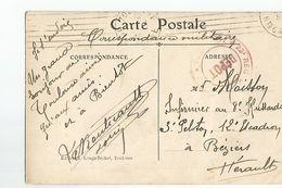 31 Toulouse Rue Alsace Lorraine Carrefour De La Pomme Correspondance Militaire  Cachet Depot - Toulouse